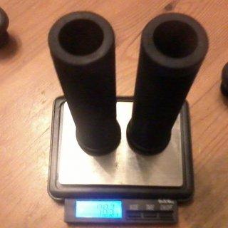 Gewicht ODI Griffe Longneck Flangeless 135mm