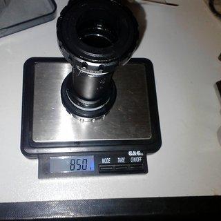Gewicht Shimano Innenlager XTR SM-BB90 HTII, 68/73mm, BSA