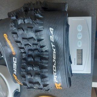Gewicht Continental Reifen Der Kaiser Projekt  26x2.4