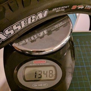 Gewicht Maxxis Reifen Assegai 29 x 2,5 WT