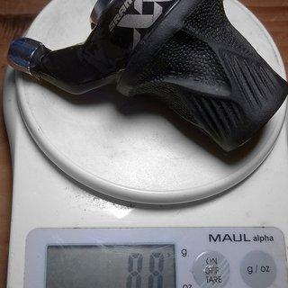 Gewicht SRAM Drehschaltgriff XX Gripshift 2SP 2-fach