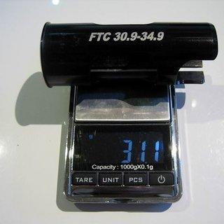 Gewicht FTC Weiteres/Unsortiertes Seat Post Shim 34,9 > 30,9mm