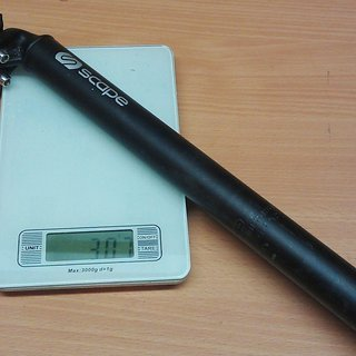 Gewicht Scape Sattelstütze MTB 31,6 x 370mm