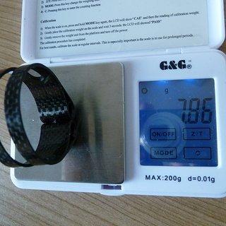 Gewicht Mcfk Sattelklemme Designklemme 38,0mm