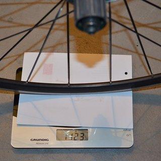 Gewicht Bontrager Systemlaufräder Bontrager Approved-Felgen und Naben Laufrad HR ETRTO 622x14, ERD 590