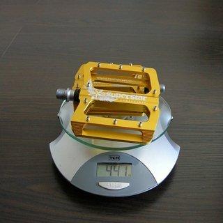 Gewicht Superstar Components Pedale (Platform) CNC Nano Tech 105x100x17mm