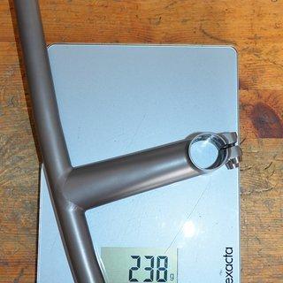 Gewicht No-Name Lenker-/Vorbau-Kombination XI'AN CHANGDA Titanium Custom Lenker-Vorbaueinheit 125x540-5°