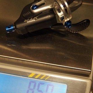 Gewicht Shimano Schalthebel SL-M980 2-,3-fach