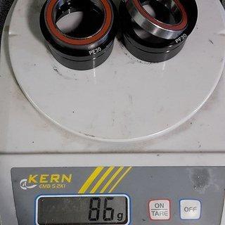 Gewicht CeramicSpeed Innenlager PF4630 46mm Gehäuse / 30mm Achse