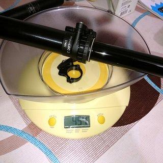 Gewicht Vecnum Sattelstütze höhenverstellbar moveLOC 2 423/140mm, 30,9mm
