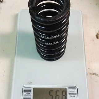 Gewicht Manitou Feder 650 x 2.00 650 x 2.00