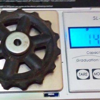 Gewicht Shimano Schaltröllchen Altus Schaltröllchen 15 Zähne