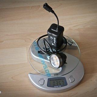Gewicht Lupine Beleuchtung Wilma 6 5,6Ah Akku