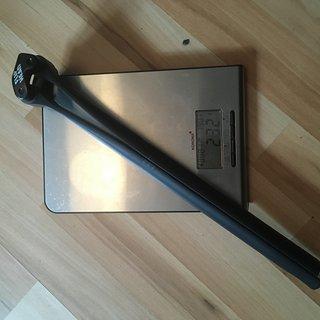 Gewicht Canyon Sattelstütze S14 VCLS 2.0 CF 27,2 mm 350 mm