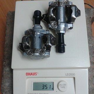 Gewicht Shimano Pedale (Klick) PD-M540
