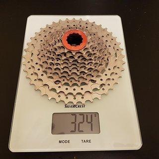 Gewicht Praxis Works  Kassette Wide Range Cassette 10-40
