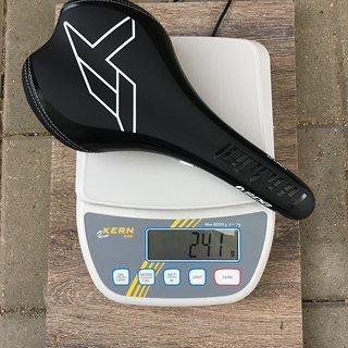 Gewicht SDG Sattel Circuit CrMo