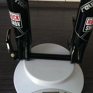 "Gewicht Rock Shox Federgabel Revelation RL DPA 150 150mm, 26"", 1 1/8"""
