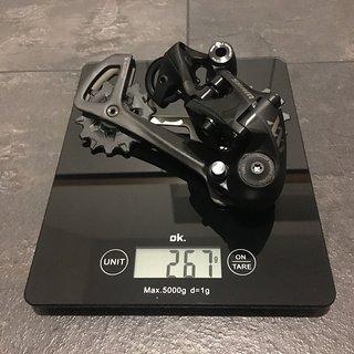 Gewicht SRAM Schaltwerk XX Eagle 12 fach