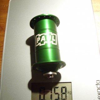 Gewicht Paul Component Engineering Nabe PAUL 100mm/QR