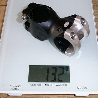 Gewicht Procraft Vorbau Freeride 4Bolt 31.8 31.8mm, 50mm, 5°