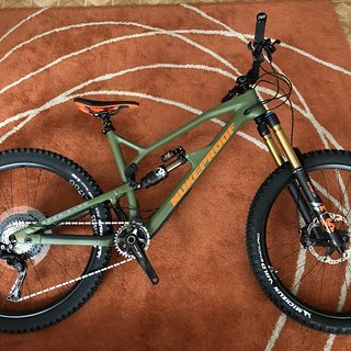 Gewicht Nukeproof Full-Suspension Mega 275 C Factory  L