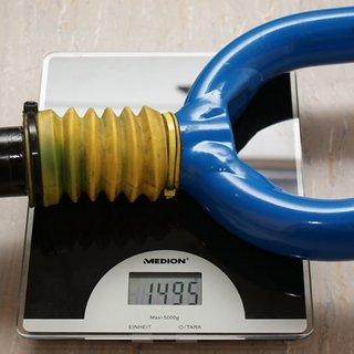 "Gewicht Cannondale Federgabel Headshok Fatty Super 26"", 80mm, 1.5625"""