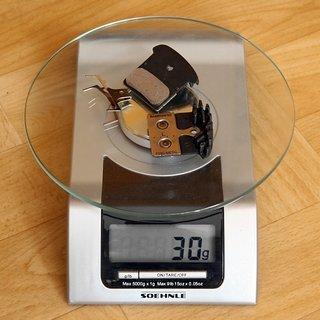 Gewicht Shimano Bremsbelag F03C Ice Tech