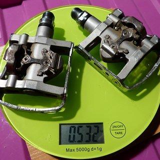 Gewicht Shimano Pedale (Klick) SPD PD-M324