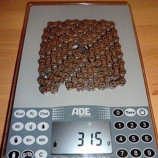 Gewicht SRAM Kette PC-870 113 Glieder, 8-fach