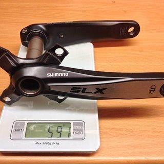 Gewicht Shimano Kurbel SLX FC-M660 170mm, 68/73mm, HTII