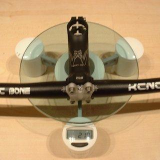 Gewicht KCNC Lenker-/Vorbau-Kombination SC Bone + SC Wing 600mm, 110mm
