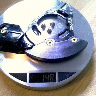 Gewicht e-thirteen Kettenführung TRS+ Dual Ring  40Z, ISCG-05