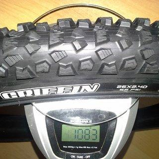 """Gewicht Maxxis Reifen Griffin [3C MaxxGrip] 26x2.4"""" / 61-559"""