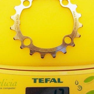 Gewicht Titaniumplanet Kettenblatt Kettenblatt-Titan 64mm, 20Z