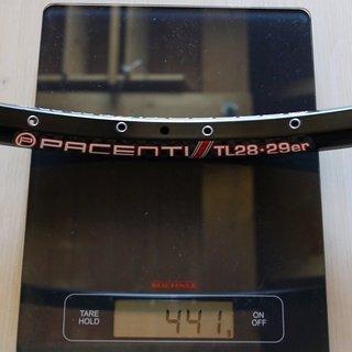 """Gewicht Pacenti Felge TL28 29"""", 622x23, 32 L"""