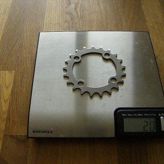 Gewicht Fatmodul Kettenblatt Fat  64mm, 21Z