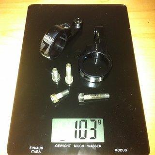 Gewicht 77designz Vorbau Direct Mount Stem 31.8mm, 43mm