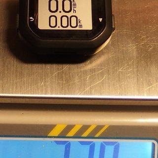 Gewicht Garmin Computer edge 20 40 x 42 x 17 mm