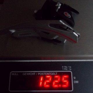 Gewicht Sachs Umwerfer DI.R.T. Centera 28.6 mm