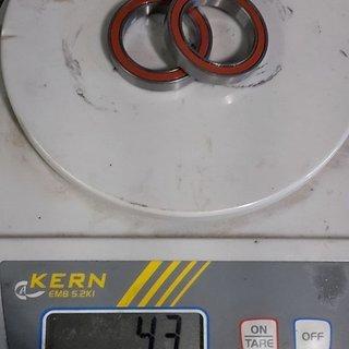 Gewicht CeramicSpeed Innenlager BB30 6(1)806 2 RS
