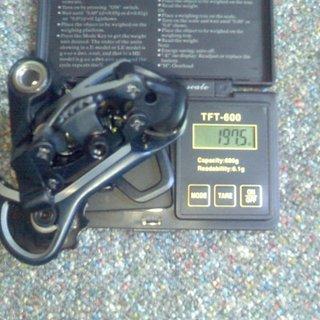 Gewicht Shimano Schaltwerk XTR RD-M971 GS Short Cage