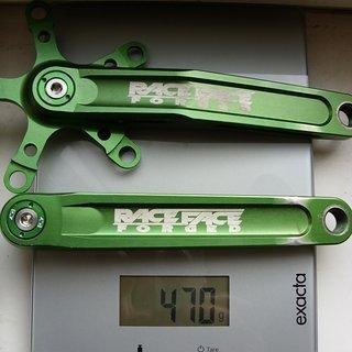 Gewicht Race Face Kurbel Turbine LP (Low Profile) 175mm, 4-kant