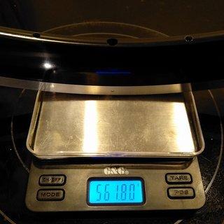 """Gewicht KinLin Felge XR-380 28"""" / 622x15 / 20 Loch"""