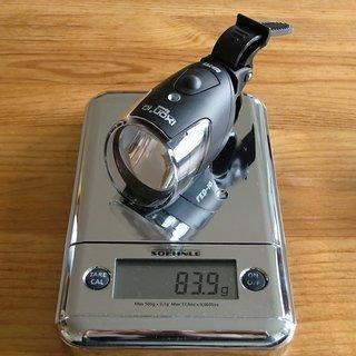 Gewicht Busch und Müller Beleuchtung IXON IQ Speed