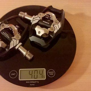 Gewicht Shimano Pedale (Klick) PD-M8020