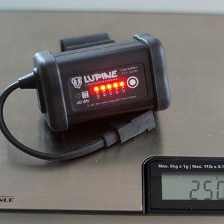 Gewicht Lupine Beleuchtung SmartCore Akku 5,6 Ah