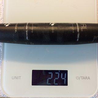 Gewicht Bontrager Lenker Race Lite Low Riser 31,8 x 690mm