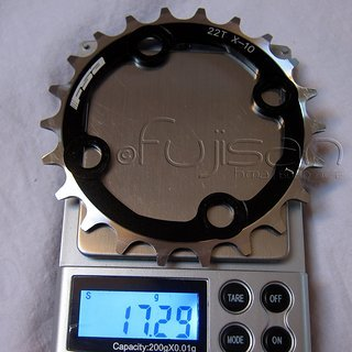 Gewicht FSA Kettenblatt Super MTB 64mm, 22Z