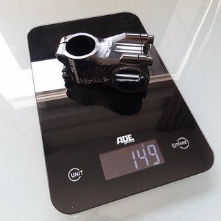 Gewicht Race Face Vorbau Atlas 6061-T6 aluminum 50mm x 31,8mm - 0°